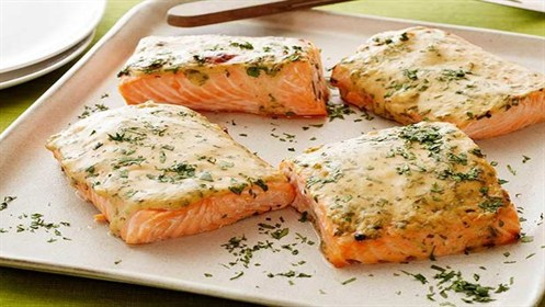 Food Network Oven Roasted Salmon