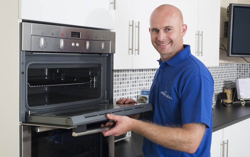 The Ovenclean 10-step Oven Cleaning Process