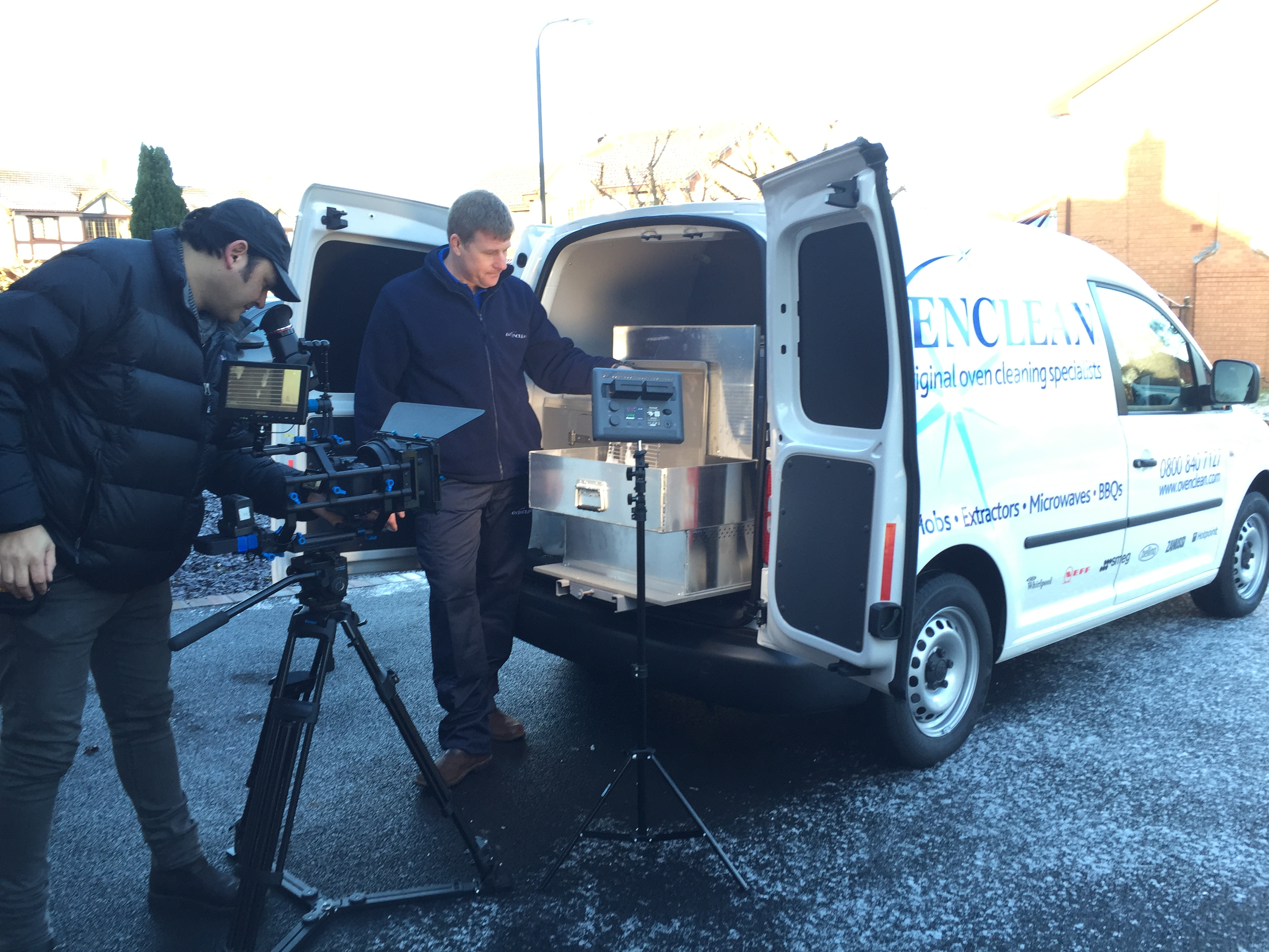 Ovenclean film first ever TV advert!