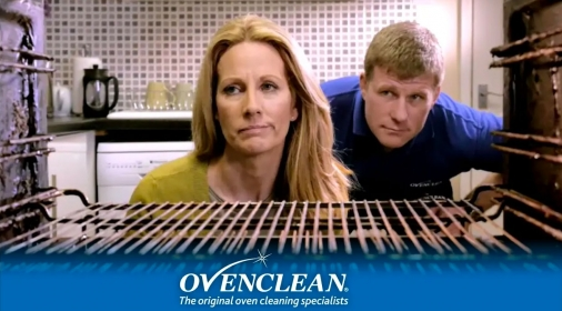 Ovenclean TV advert