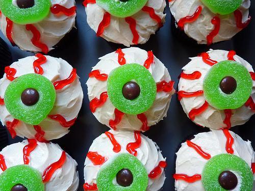 Eyeball -cupcakes