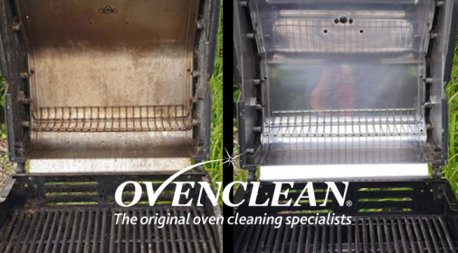 Ovenclean BBQ Before and After