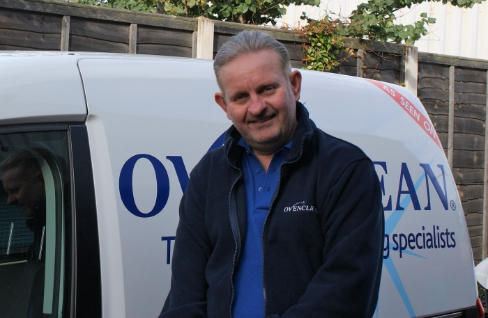 Nigel Colson Ovenclean franchisee