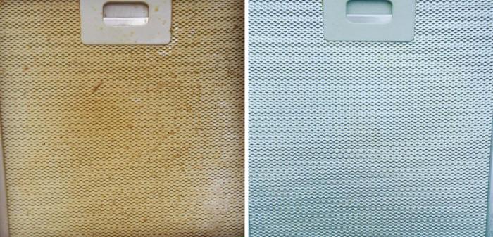 Extractor fan cooker hood filters